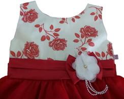 Vestido de Festa Lovely Flower