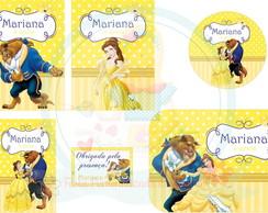 Festa Personalizada Princesa Bela
