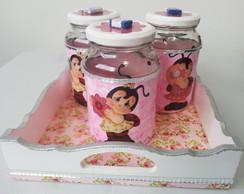 Kit Higiene Joaninha - menina