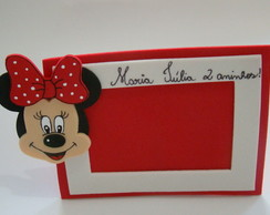 Porta Retrato Minnie - 2015