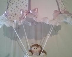 Lumin�ria Lustre Infantil Paraquedas