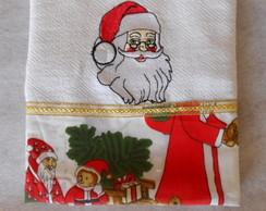 Pano de Prato - Papai Noel 01