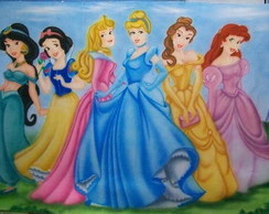 Painel princesas