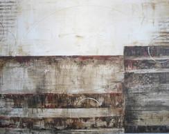 nude faixas - quadro abstrato