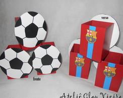 Enfeite mesa futebol Barcelona