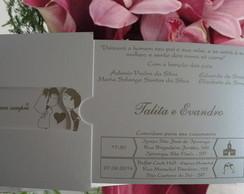 Convites de Casamento modelo O Encontro