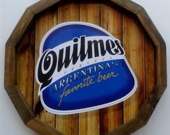 Placa de cerveja decorativa Quilmes