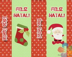R�tulo Bis Personalizado - Natal