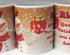 Caneca Ceramica Natal