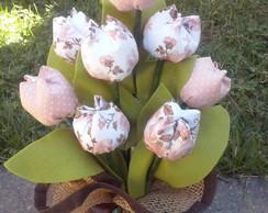 peso de porta de tulipas,