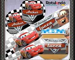 R�tulo Papinha + tampa carros
