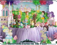 Decora��o Mesa Princesas Baby2