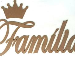Fam�lia + Coroa para parede