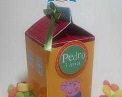 Caixa Casa George Pig Personalizada !