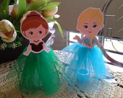 Tubetes decorados Frozen kids