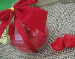 Bola de Natal Recheada de Amor!