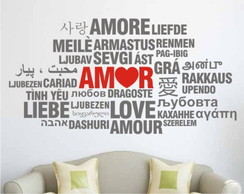 Adesivo - V�rias formas de dizer Amor
