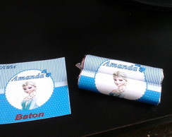 batom personalizado frozen