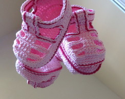 Sapatinhos de croch�