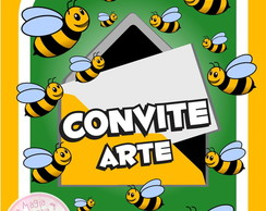 Convite (Arte) - Abelhinhas