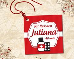 Tag Quadradinha Kit Ressaca - 00241