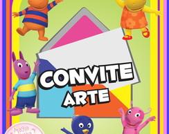 Convite (Arte) - Backyardigans