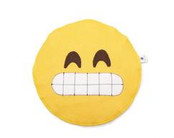 Lixinho de carro emoji - sorriso dentes