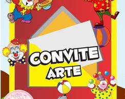 Convite (Arte) - Circo