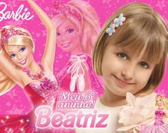 Lembrancinha Barbie 6,5x4,5cm