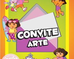Convite (Arte) - Dora A Aventureira