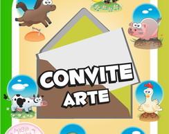 Convite (Arte) - Fazendinha