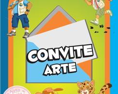 Convite (Arte) - Go Diego Go