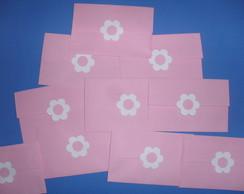 Envelopes decorados 12/8.