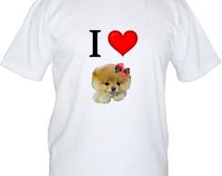 Camiseta I Love