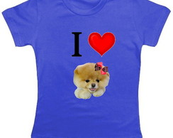 Camiseta Infantil I Love