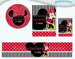 Kit Festa Infantil Minnie II (arte)