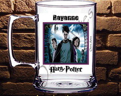 Caneca Acr�lico Harry Potter