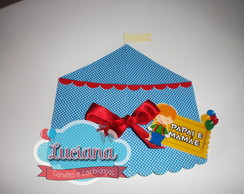 Convite Tenda Circo