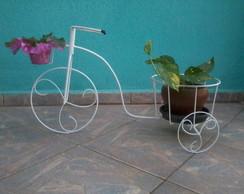 Bicicleta Triciclo Suporte para Plantas