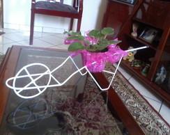 Carrinho de M�o Suporte para Plantas