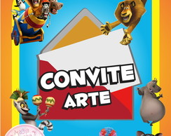 Convite (Arte) - Madagascar