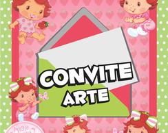 Convite (Arte) - Moranguinho Baby