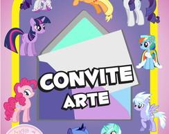 Convite (Arte) - My Little Pony