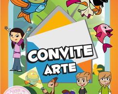 Convite (Arte) - Peixonauta