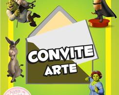 Convite (Arte) - Shrek