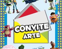 Convite (Arte) - Toy Story