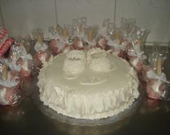 bolo art�stico p/ batizado.