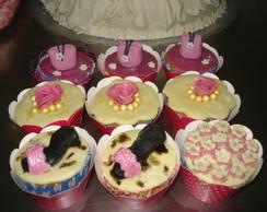 cupcake personalizado de 15 anos.