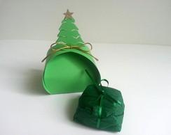 Caixinha de Papel - �rvore de Natal