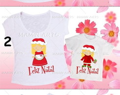 Kit 2 Pe�as M�e filha(o) Natal